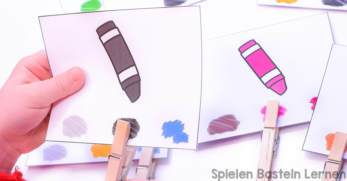 Bunte Regenbogenbären zum Ausdrucken - Spielen Basteln Lernen